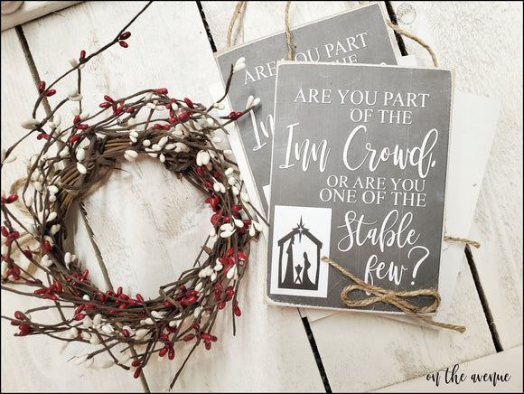 Are You Part of The Inn Crowd - Ornament Set (5)