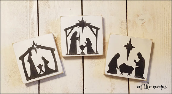 Nativity Scene Block Set