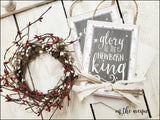 #15 - Glory To The New Born King - Ornament Set (2)