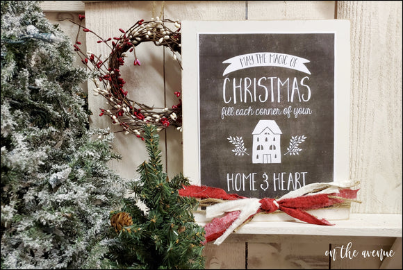 May The Magic Of Christmas - Wood Sign
