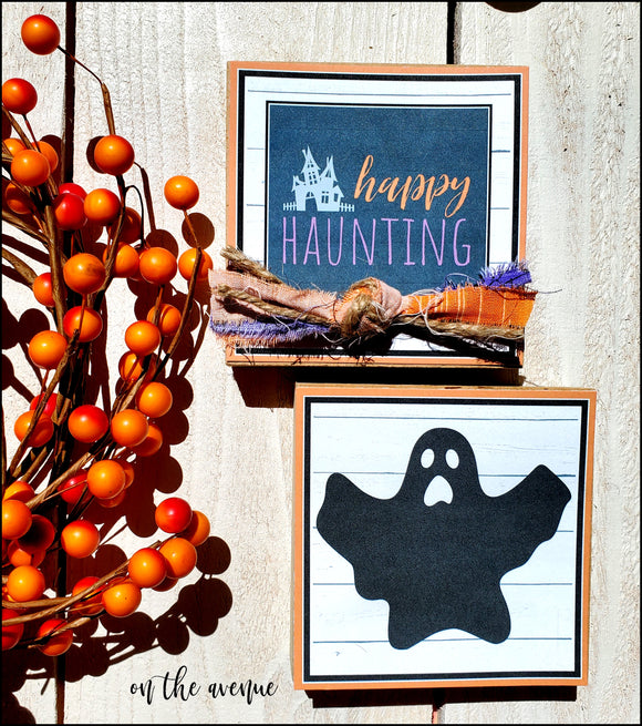 Happy Haunting - Ghost Block Set
