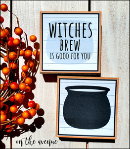 Witches Brew Is Good for You - Block Set