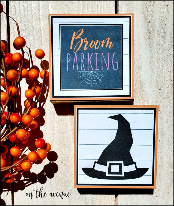 Broom Parking - Block Set