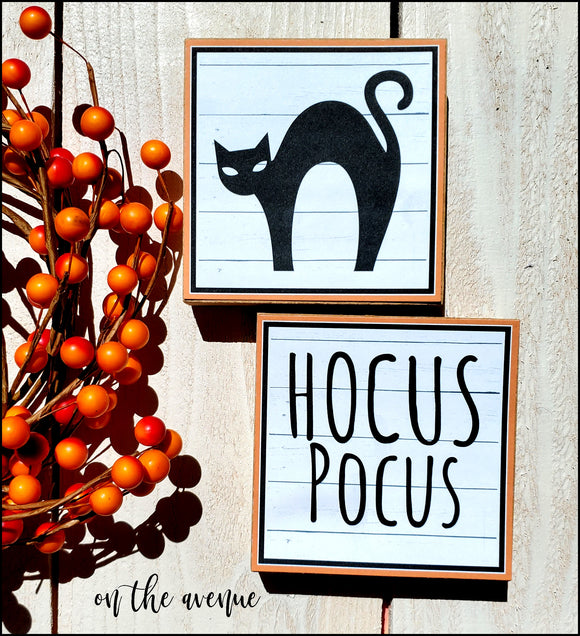 Hocus Pocus Black Cat - Block Set