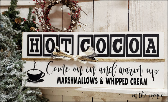 Hot Cocoa - Come On in And Warm UP