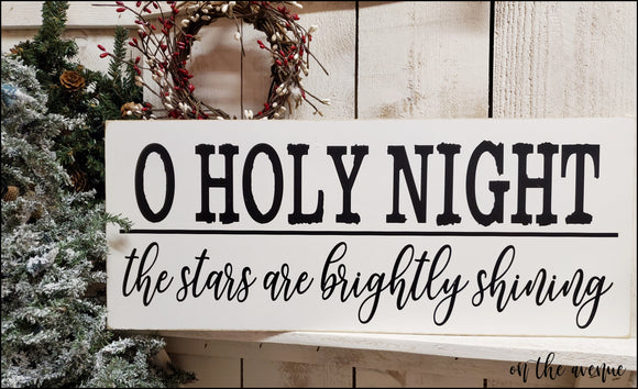 O Holy Night - The Stars are Brightly Shining