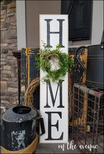 HOME - Vertical Sign