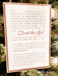 LUKE:2 - Christmas Sign