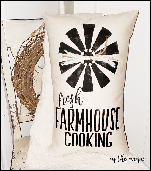 Fresh Farmhouse Cooking - Stuffed Pillow