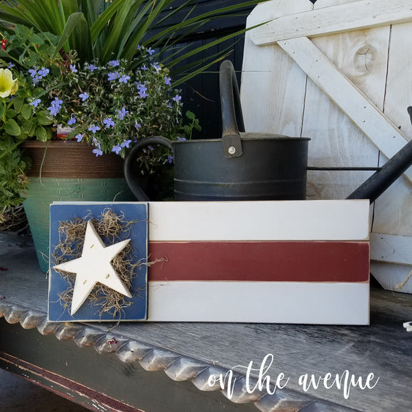 Star & Stripes Door Hanger