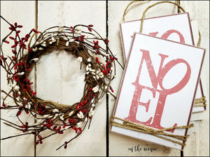NOEL - Ornament Set of 2