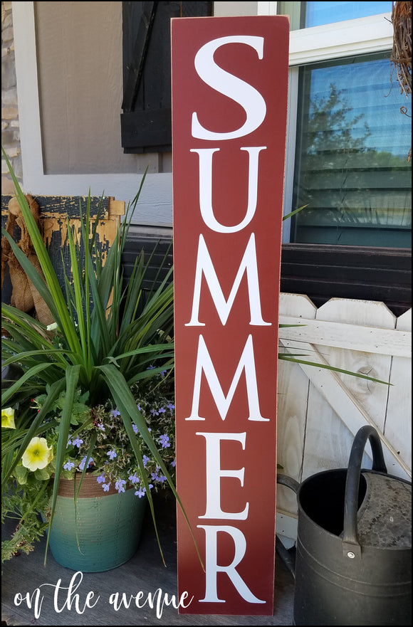 #7 - Summer - Tall Sign