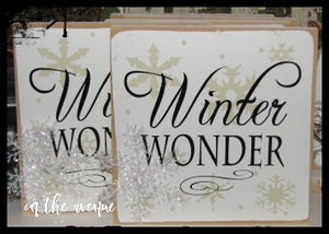 Winter Wonder Block Set (2)