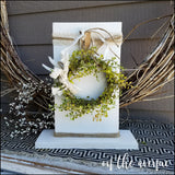 Wreath Stand w/3 Change Out Wreaths