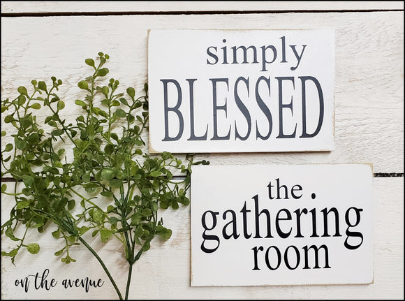 Simply Blessed - Magnet Set