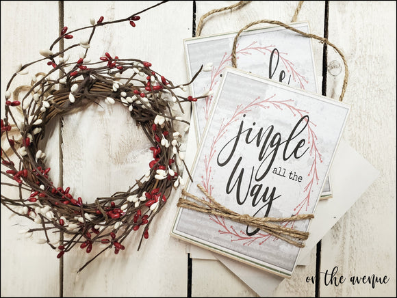 Jingle All The Way - Ornament Set (2)