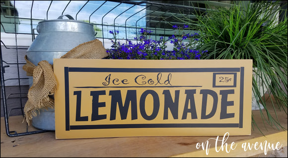 #5 - Ice Cold Lemonade