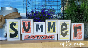 Lazy Days of Summer Block Set