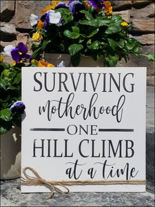 Surviving Motherhood One Hill Climb at A Time