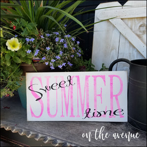 #3 - Sweet Summer Time
