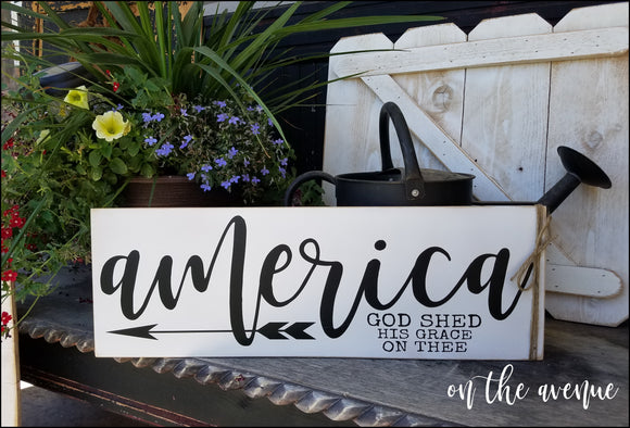 #1 - America - God Shed His Grace On Thee