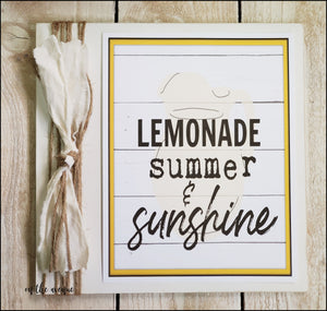 Lemonade Summer & Sunshine