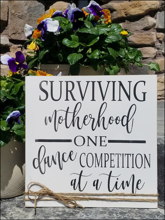 Surviving Motherhood One Dance Competition At A Time