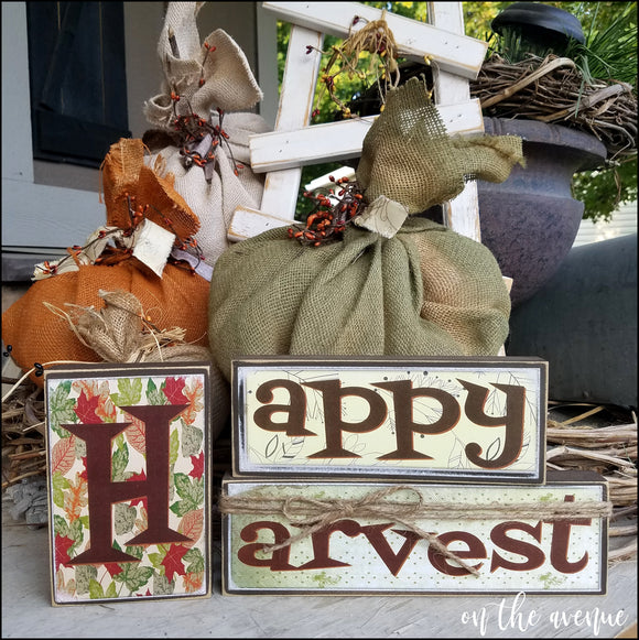 Happy Harvest Block Set