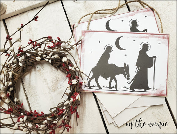 Christmas Nativity - Ornament Set (5)