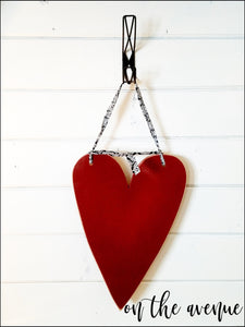 Valentine's Day Heart Door Hanger