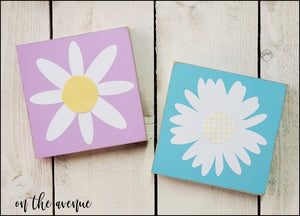 Flower Power - Block Set - UNFINISHED KIT