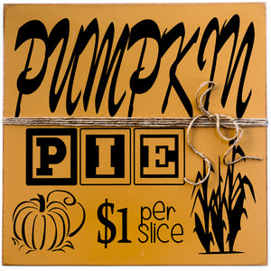 Pumpkin Pie - $1.00 Per Slice