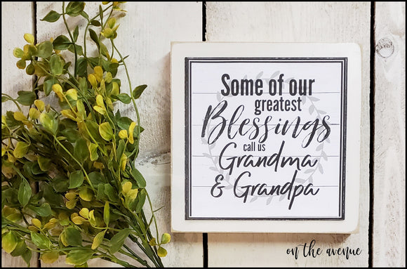 #7 - Some of Our Greatest Blessings - Shelf Sitter