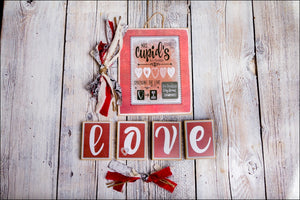 Valentine's Day Change Out Kit - Rustic