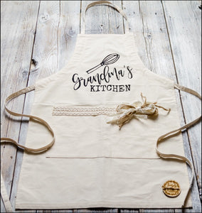 ~Grandma's Kitchen~ Fabric Apron