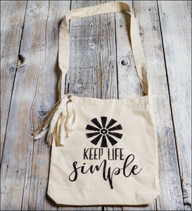 Keep Life Simple~ Tote Bag