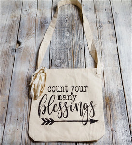 Count Your Many Blessings - Tote Bag~