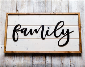 ~Family~ Shiplap Box