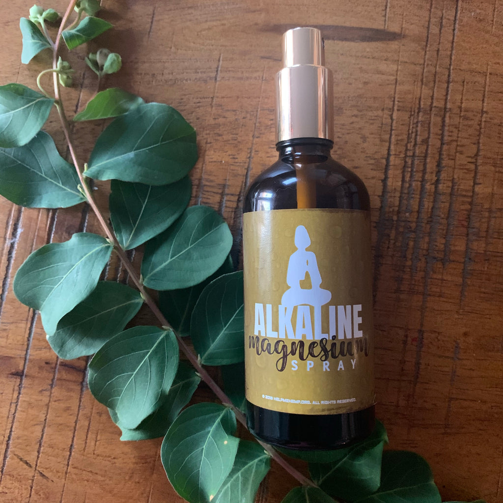 Alkaline Magnesium body spray 3.3 oz