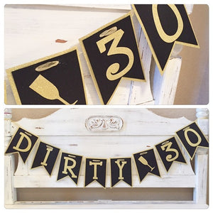 Handmade Custom Party Banner