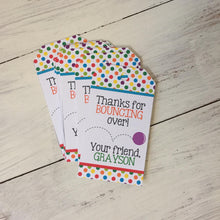 Custom Favor Tags