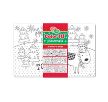 Christmas Color Your Own Placemat