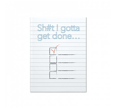 Get Sh*t Done Journal
