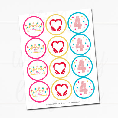 HeartStories Printable Party Kit