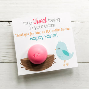 Easter Lip Balm Teacher Gift