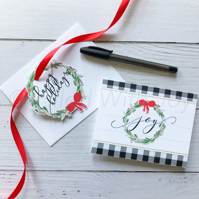 Farmhouse Joy Notecards