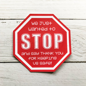 Stop and Say Thanks!