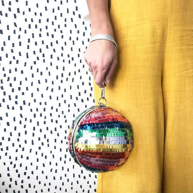 Clutch Disco Ball Purse
