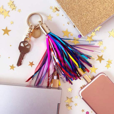 Stream Big Charger Keychain