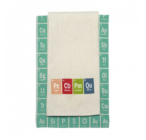 Periodic Table Kitchen Towels